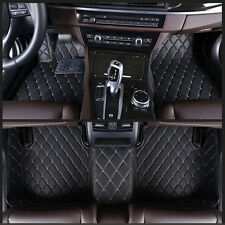 For Honda Accord 2013-2016 6 Colours leather Car Floor Mats Waterproof Mat