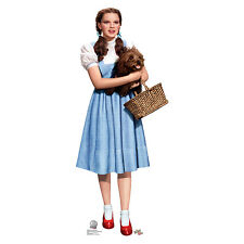 DOROTHY & TOTO Wizard of Oz 75th Lifesize CARDBOARD CUTOUT Standee Standup F/S