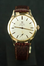 Omega Seamaster 30 Men's 18K 0.750 Solid gold Manual Watch cal 269
