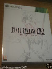 FINAL FANTASY XIII-2 COLLECTOR'S CRYSTAL EDITION (XBOX 360) NEW SEALED VERY RARE