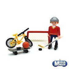 playmobil® Hockey | Mountainbike | Skateboard | Basketball | Multisport Set