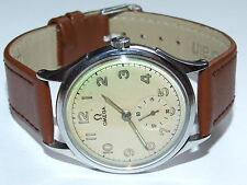 Superb, Very Scarce 1942 Omega Cal 30.10 RA PC Bumper Automatic Gents Watch