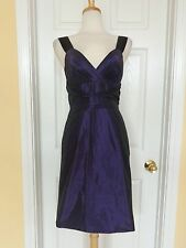 BANANA REPUBLIC purple party dress size 4 NEW $175