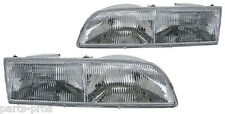 New Replacement Headlight Assembly PAIR / FOR 1992-97 FORD CROWN VICTORIA
