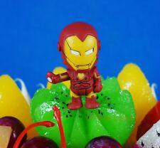 Marvel Universe Figure Figurine Superhero Avengers Iron Man CAKE TOPPER K1024_K