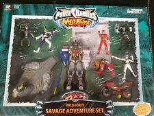 2002 Bandai Power Rangers Wild Force Savage Adventure Set MIB