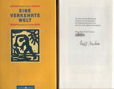 Rudolf Arnheim, Eine verkehrte Welt, Leinen geb. Vorzugsausgabe Nr. 57/150 sign.