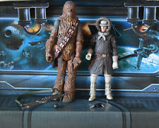 STAR WARS FIGURE LEGACY COLLECTION HOTH CHEWBACCA & HAN SOLO
