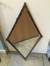 ORIGINAL ART DECO/VINTAGE Silver Plated Framed MIRROR - beautiful. REX