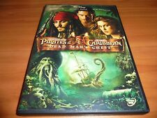 Pirates of the Caribbean: Dead Man's Chest (DVD, 2006,Widescreen) Used Disney 2