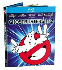 GHOSTBUSTERS 1 & 2 (Optimized & Mastered in 4K)-  Blu Ray - Sealed Region free
