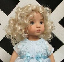 "Doll Wig Monique ""Laura"" size 12/13 in Pale Blonde"