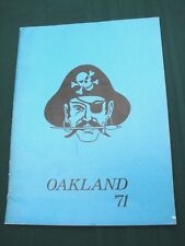 Oakland Oregon Lincoln Jr High School 1971 Annual Year Book