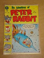ADVENTURES OF PETER RABBIT #25 VG (4.0) AVON COMICS NOVEMBER-DECEMBER 1954