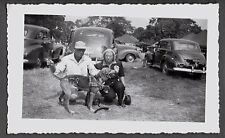 1948 OHIO HUNTING WORKING DOGS HOUNDS RETRIEVER POINTER BIRD DUCK DOG OLD PHOTO