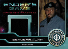 Enders Game Movie Wardrobe Card M10 Nonso Anozie as Sergeant Dap