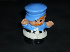 Fisher Price Little People Red Hair Policeman Police Man Officer