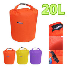 20L Dry Bag Water Resistant Canoe Floating Boating Kayaking Camping Waterproof