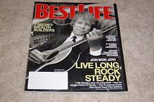 JON BON JOVI November 2007 BEST LIFE MAGAZINE Secret Wealth Builders