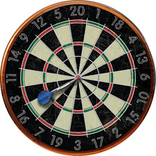 Dart Board Image Metal Sign, Decorative Only, Game Room, Pub Décor, Mancave, Bar