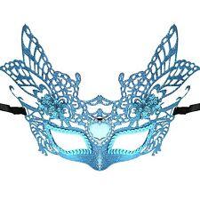 Ladies Deluxe Glitter Princess Winged Masquerade Mardi Gras Parade Mask