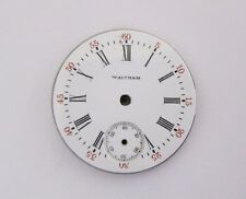 WALTHAM POCKET WATCH DIAL WITH MOVEMENT PART PARTS REPAIR 578606