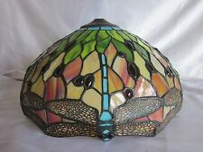Dale Tiffany Stain Glass Dragonfly Lamp Shade 14""