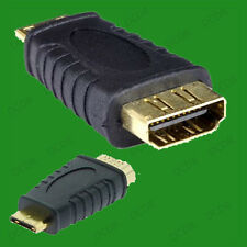 HDMI Female to Mini HDMI Male, Type A to C, Gold Plated HD TV Adaptor Connector