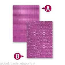 BRAND NEW SPELLBINDERS M-Bossabilities GRADUATED DOTS A4 Embossing Folder EG-001