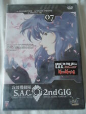 //NEUF * Ghost In The Shell : Stand Alone Complex, 2Nd Gig Vol. 7 * DVD MANGA VF