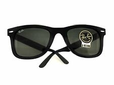 New Ray-Ban Sunglasses RB2140 Wayfarer 901 50 mm Black Frame Black Green Lenses