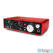 Focusrite Scarlett 2i2 (2nd Gen) *Latest Vers* USB Soundcard + Ableton Live Lite