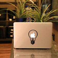 "Bulb Vinyl Decal Sticker Skin for Apple MacBook Air/Pro 11'' 12"" 13'' 15'' 17''"