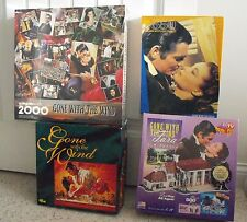 VTG Gone with the Wind Movie 3-D Springbok Golden Puzzles SEALED & Board Game