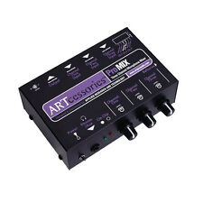 ART ProMIX - 3-Channel Microphone Mini Mixer with Phantom Power