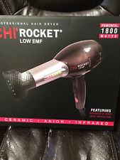CHI Original Rocket Low EMF Professional Hair Dryer - NEW & AUTHENTIC!