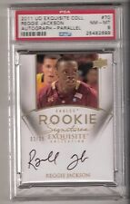 REGGIE JACKSON 11/12 exquisite GOLD auto rookie #70 serial #02/25 BGS 8