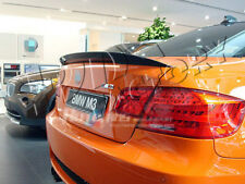 CARBON FIBER BMW E92 3-SERIES PERFORMANCE STYLE REAR BOOT SPOILER WING UK SELLER