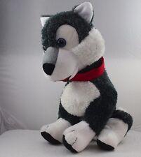 """Husky Malamute Wolf Plush Toy 21"""" Large"""