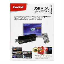 KWorld Hybrid TV Tuner FM and Video Capture TV Tuners and Video UB445-U2 used