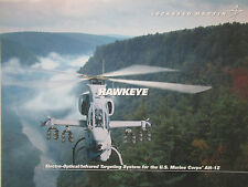DOCUMENT 1 PAGE LOCKHEED MARTIN HAWKEYE AN/AAQ-30 TARGET SIGHT SYSTEM AH-1Z