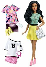 Barbie Fashionista African-American Doll with Additional Outfits Girls Gifts Toy
