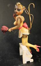 "MARGARET LE VAN ALLEY CATS ""NAUGHTY NAT DUSTING"" ORNAMENT MWOT"