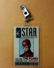 Flash ID Badge -The Flash STAR Laboratories  prop cosplay costume