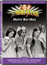 Three Stooges: Nutty But Nice (2007, DVD NEW) BW/CC/Mult DUB-SUB