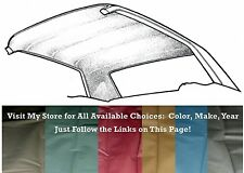 Dark Green Coupe 64-68 Ford Mustang Headliner Replacement by PonyExpress