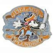 PIRATE MICKEY Sword IN Hand PILLAGE & PLUNDER Disney 2014 PIN #101236