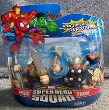 SUPER HERO SQUAD 2007 MARVEL ARES & THOR SET