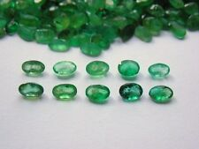 1.10ct 5 st Green Natural Colombian Emerald Parcel