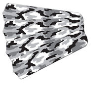 "New CAMOFLAUGE CAMO SNOW BLACK WHITE 42"" Ceiling Fan BLADES ONLY"